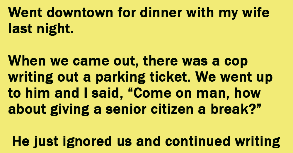 A Couple Went Downtown For Dinner